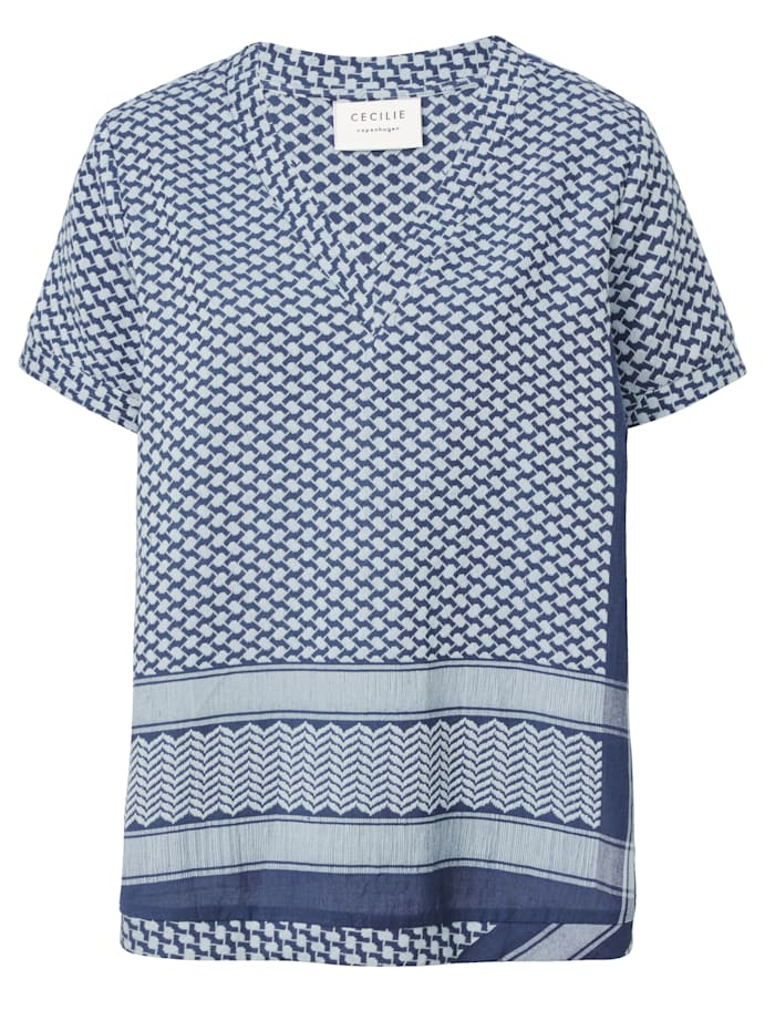 Cecilie Copenhagen Shirt, Marineblau