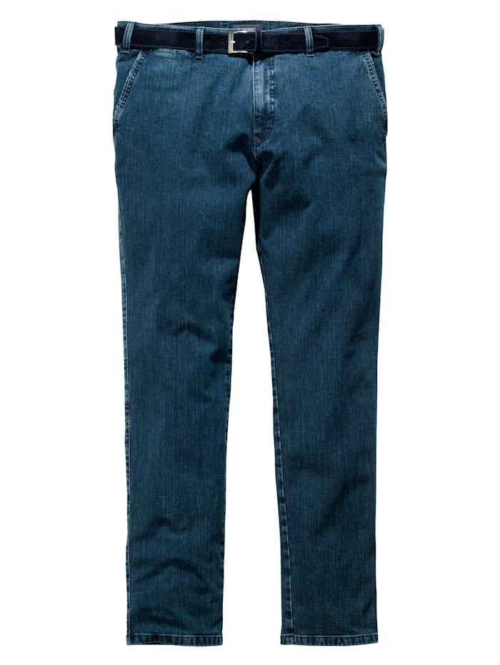 Jeans med flat front