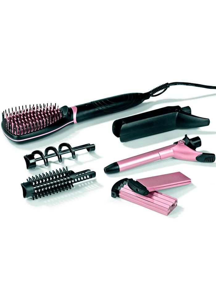 Vitalmaxx VITALmaxx Multifunktions-Haarstyler 6 in 1, schwarz