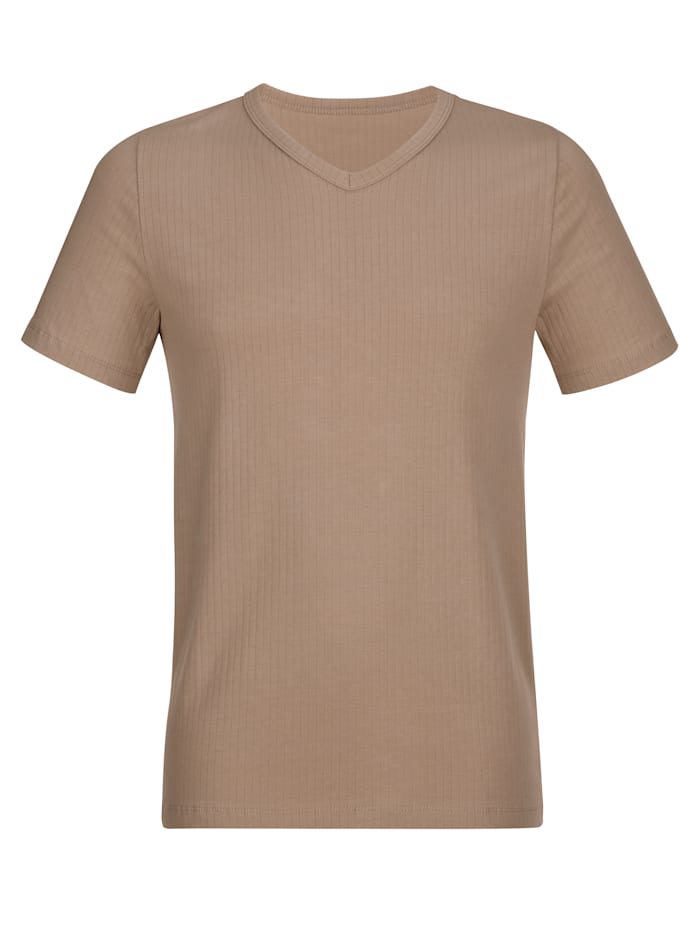 Shirts im 2er-Pack mit Nadelzug