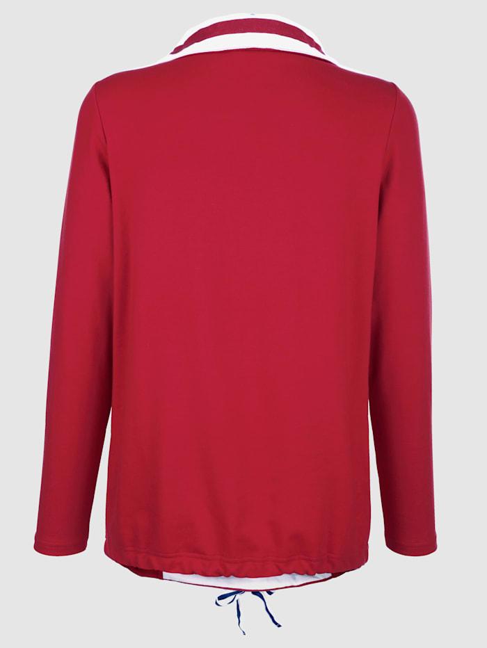 Sweatshirt mit maritimen Druckdetails