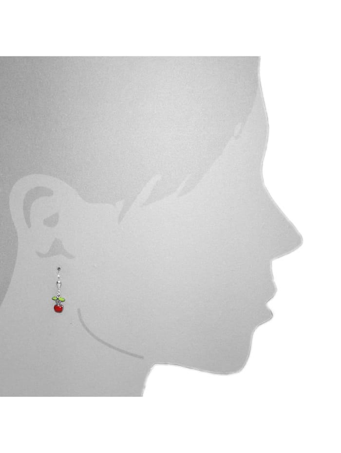 Ohrhänger - Apfel - Silber 925/000 - ,