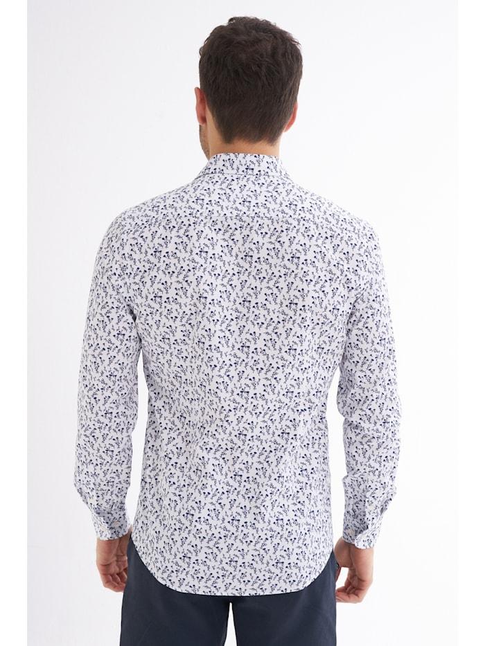 Hemd Santino mit floralem Muster