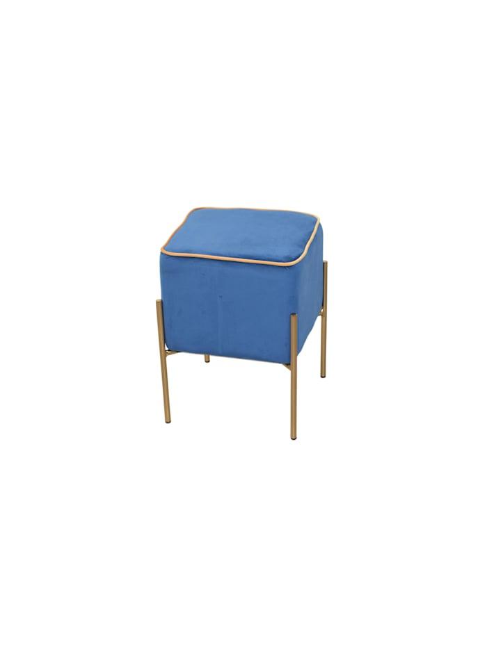 Möbel-Direkt-Online Sitzpouf Dany, blau