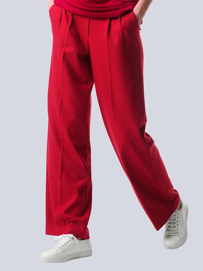 Alba Moda Hose in N-und K-Größen, Rot