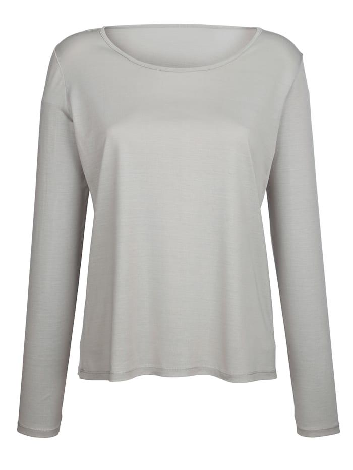 T-shirt en pure soie