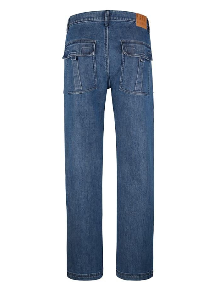 Worker-Jeans mit vielen praktischen Taschen