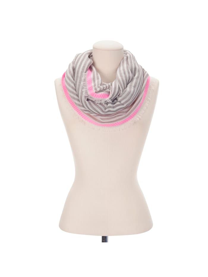 Streifen-Loop aus softer Baumwolle