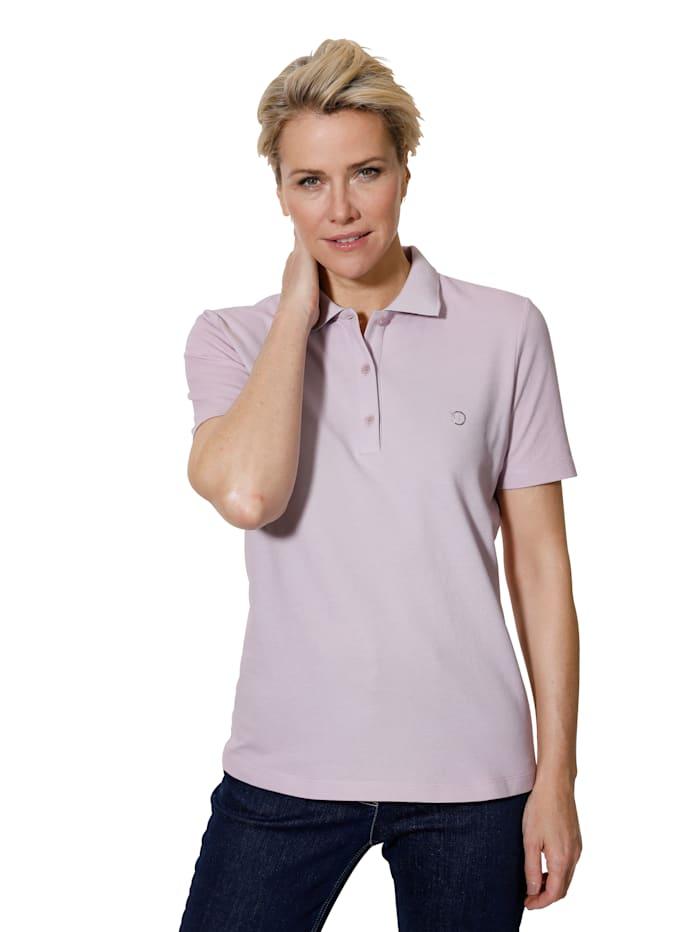 MONA Poloshirt in Pimabaumwoll-Picquee, Lavendel