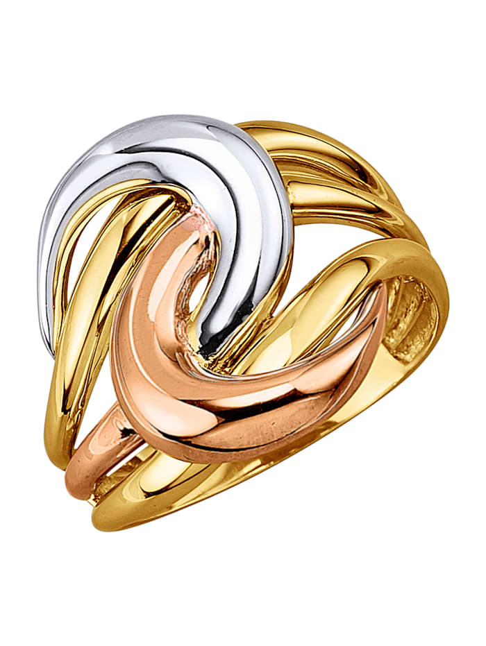 Diemer Gold Damesring, Geel