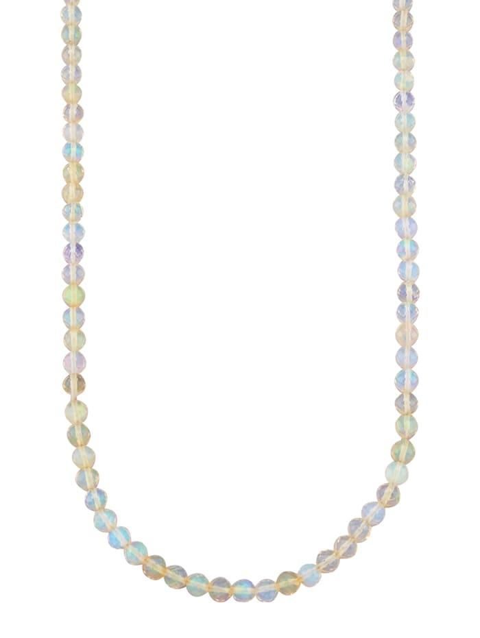 Collier avec opales d'Éthiopie