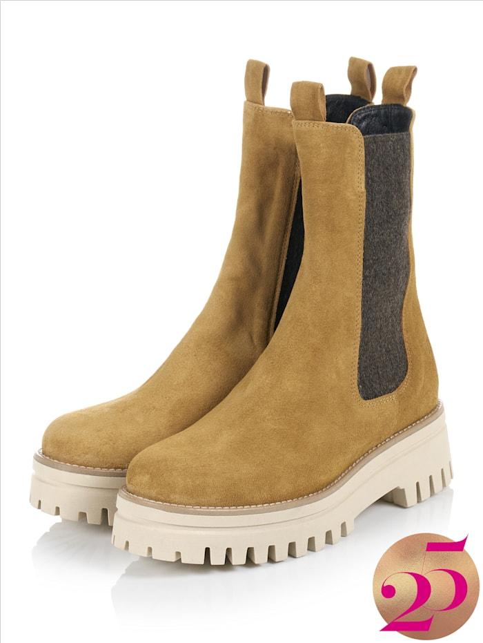 CINQUE Boots, Jubiläumskollektion, Maisgelb