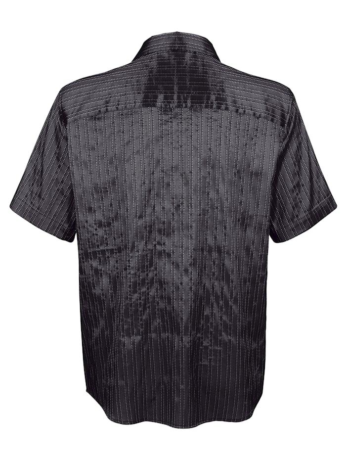 Skjorta i glansigt material