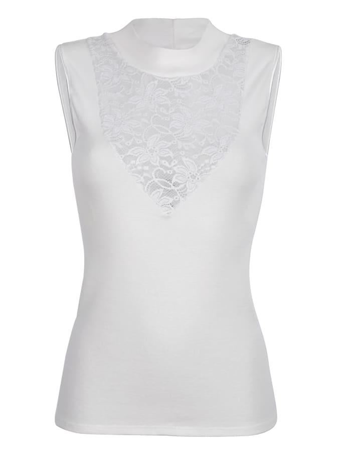 Blue Moon T-shirt, Blanc