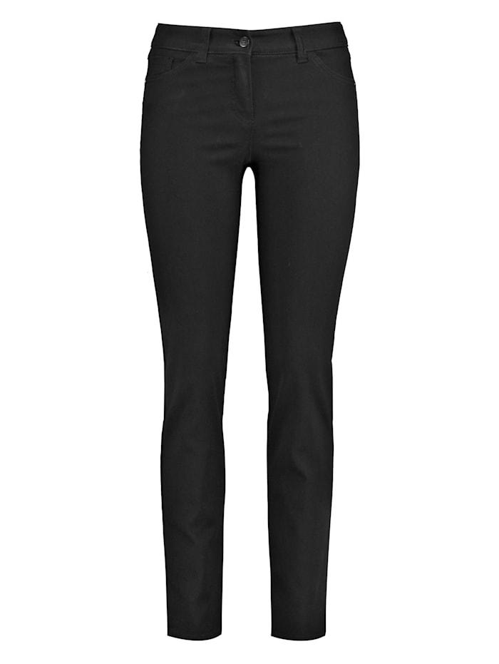 Gerry Weber 5-Pocket Jeans Best4me, Black Black Denim