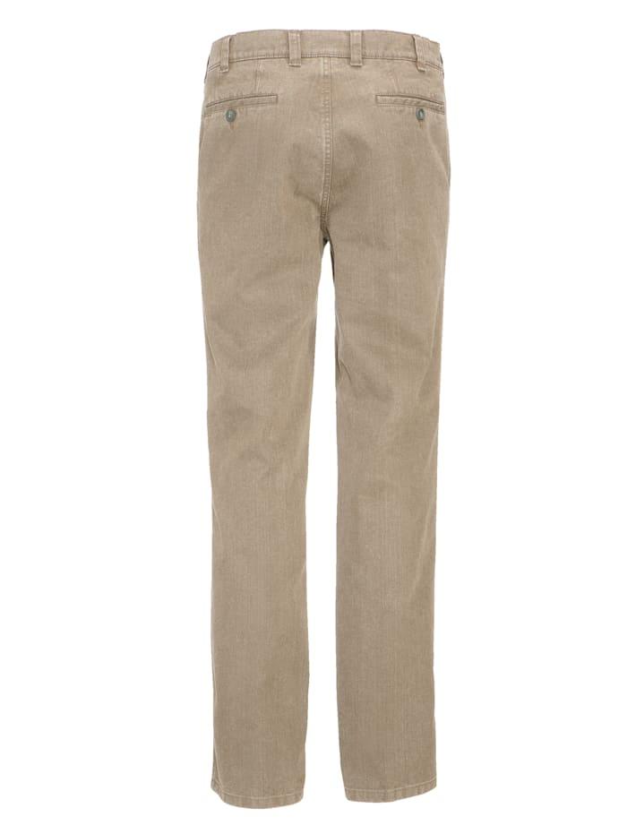 Jeans met 7 cm meer bandwijdte