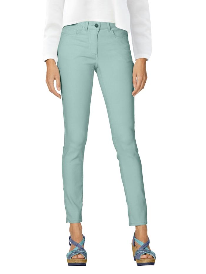 AMY VERMONT Jeans in elastischer Qualität, Türkis