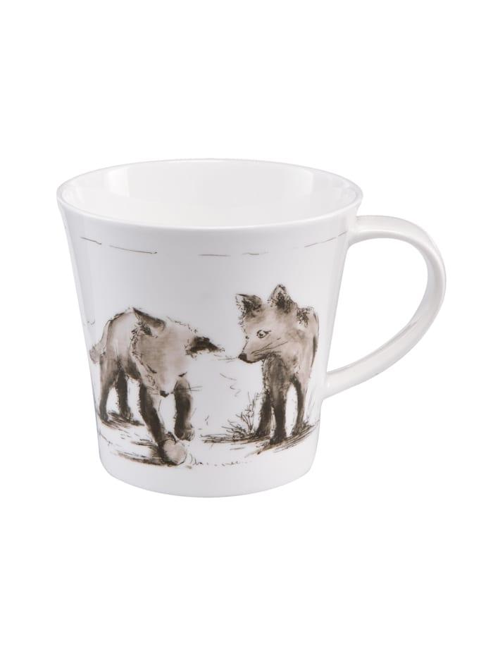 """Goebel Goebel Coffee-/Tea Mug Peter Schnellhardt - """"Erste Entdeckungsreise"""", Erste Entdeckungsreise"""