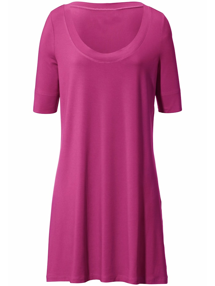 Anna Aura Jersey-Shirt in A-Linie ., pink