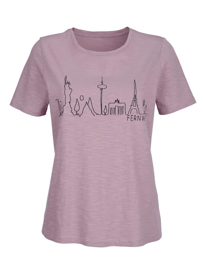 Shirt mit Frontprint