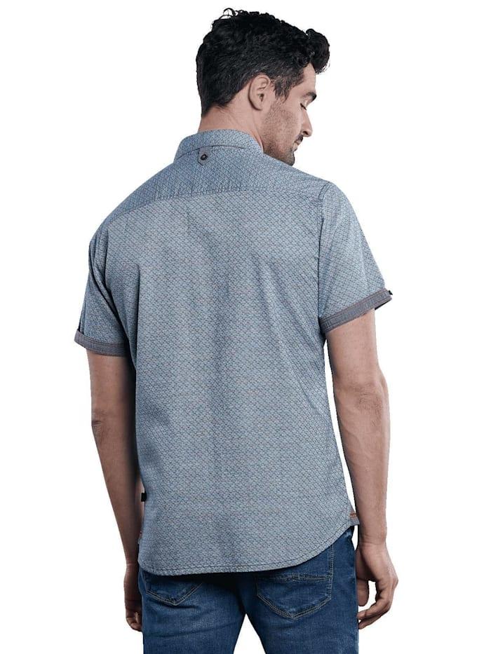 Kurzarm-Hemd strukturiert