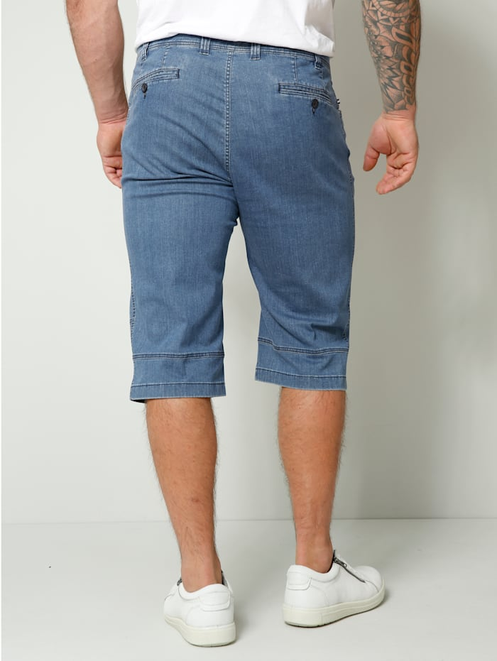 Longjeansbermuda Straight Fit
