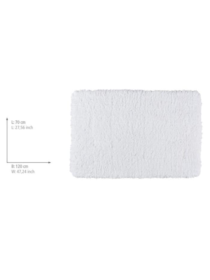 Badteppich Belize Weiß, 70 x 120 cm, Mikrofaser