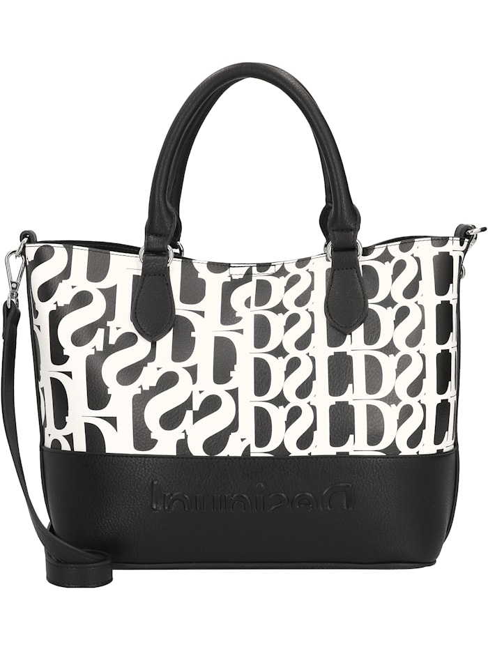 Desigual Cristalina Hollywood Shopper Tasche 28 cm, negro