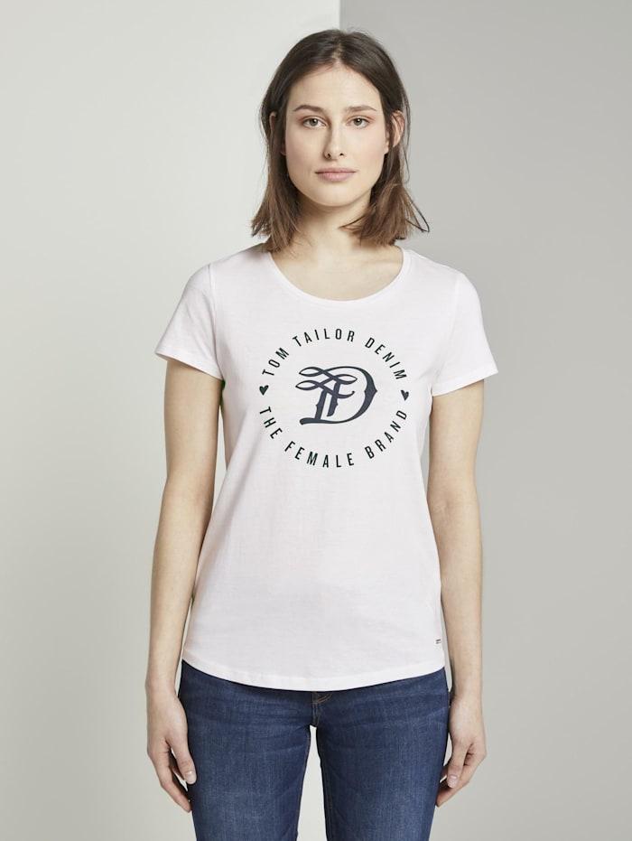 Tom Tailor Denim T-Shirt im Doppelpack, Off White