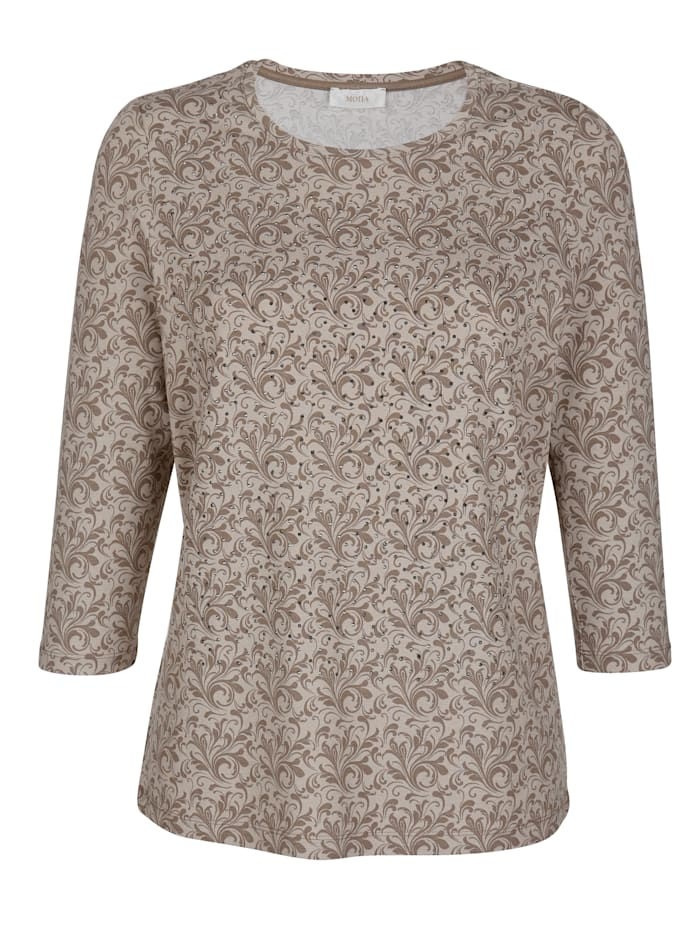 Top with sparkling embellishments