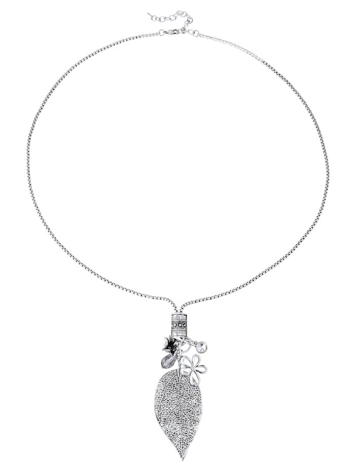 Halskette mit Blattelement