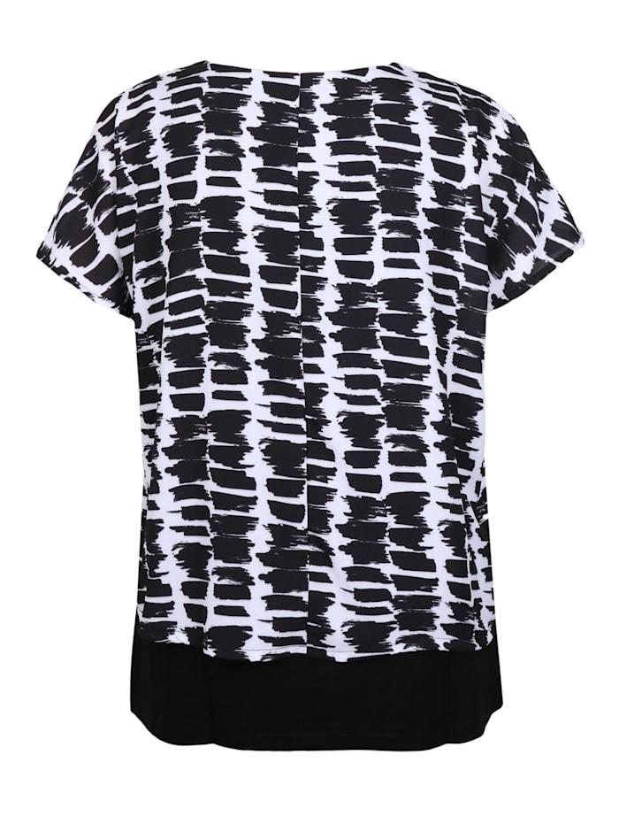 2-in-1-Shirt mit grafischem Print .