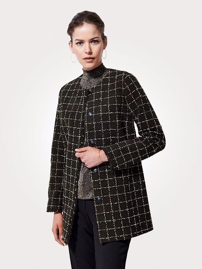 Jacket in a longline cut