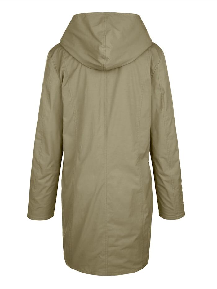 Obojstranná bunda s kapucňou