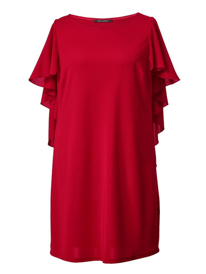 Jersey-Kleid mit Volants