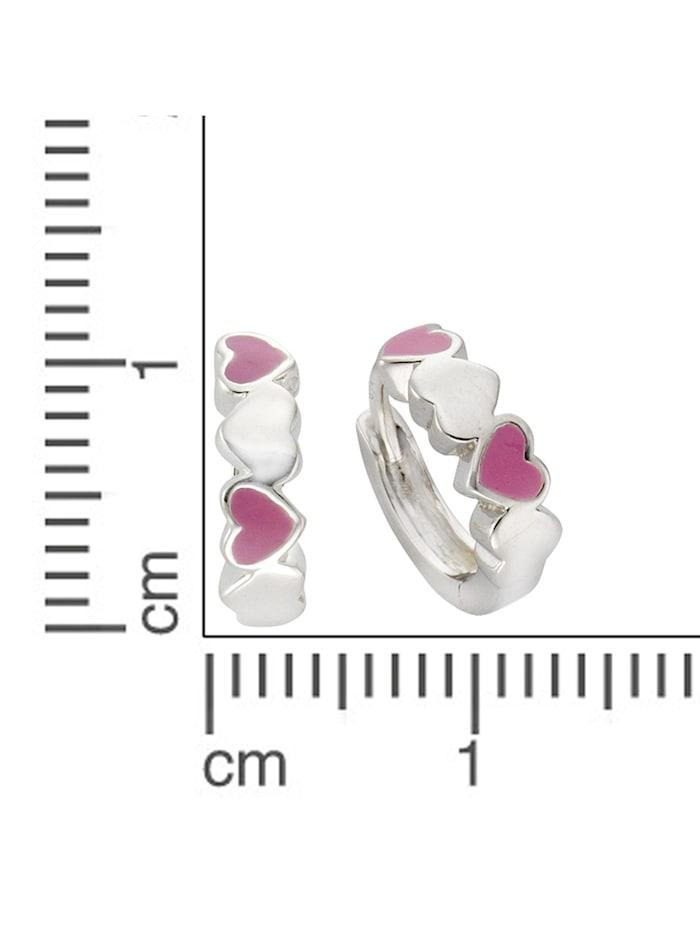 Creolen 925/- Sterling Silber 1,0cm Glänzend 925/- Sterling Silber