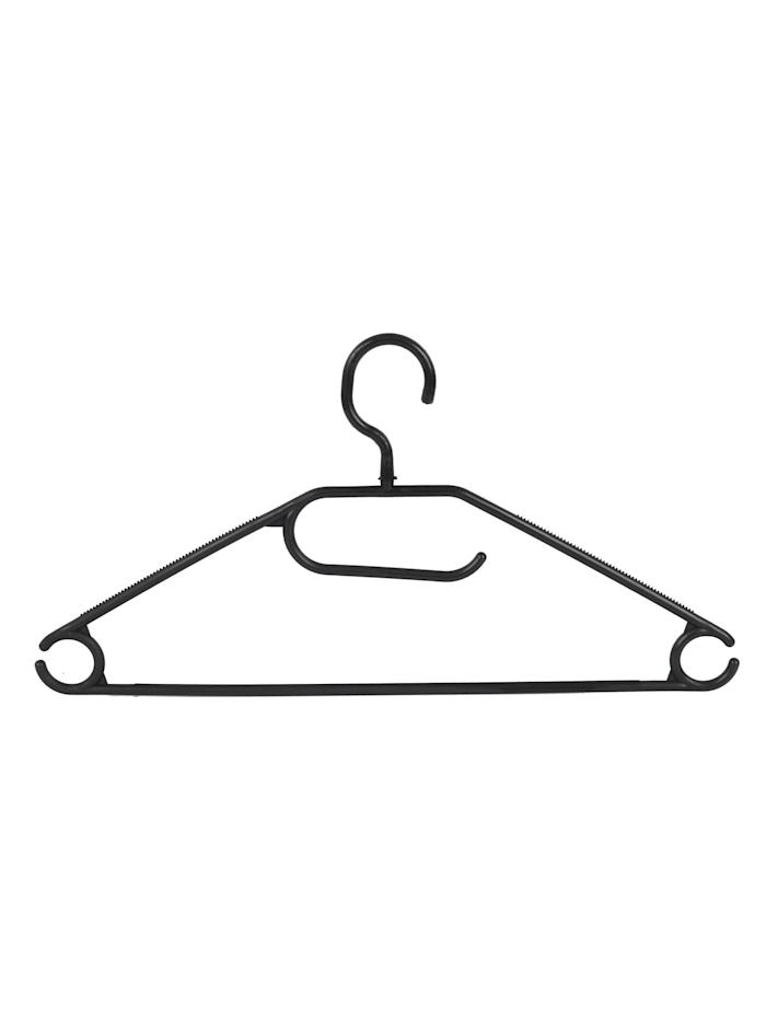 HTI-Living Kleiderbügel 50 Stück Business, Schwarz