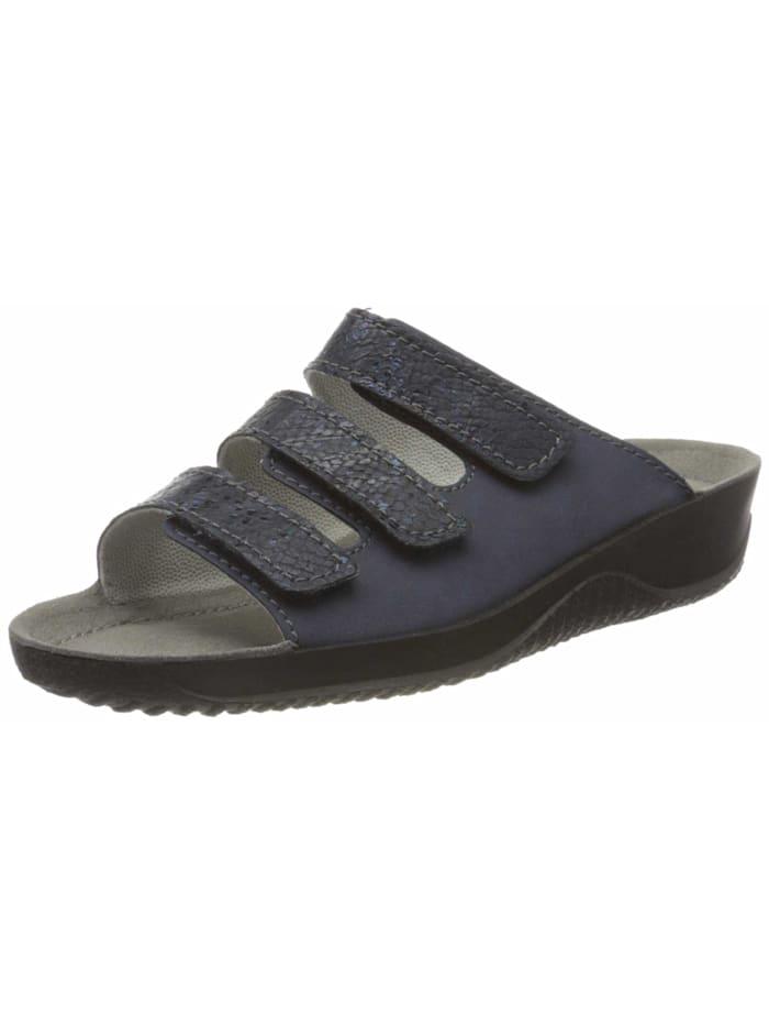 Rohde Pantoletten, dunkel-blau