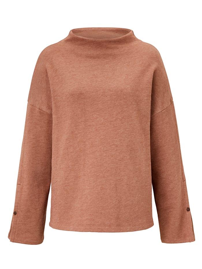 REKEN MAAR Sweatshirt, Braun
