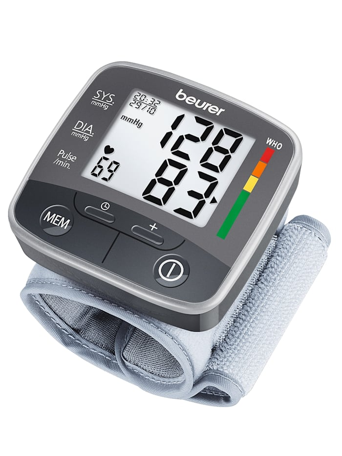 Beurer Handgelenk-Blutdruckmessgerät BC 32 - vollautomatisch, Ungefärbt