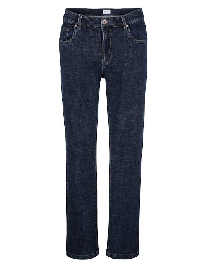 Roger Kent Jeans i elastiskt material, Blue stone