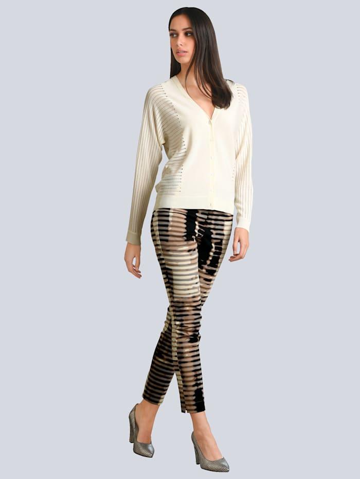 Hose in exklusivem Alba Moda Dessin