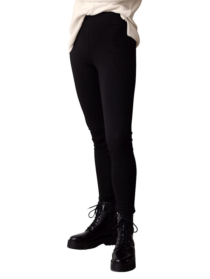 Laura Kent Leggingsit paksua jerseytä, Musta