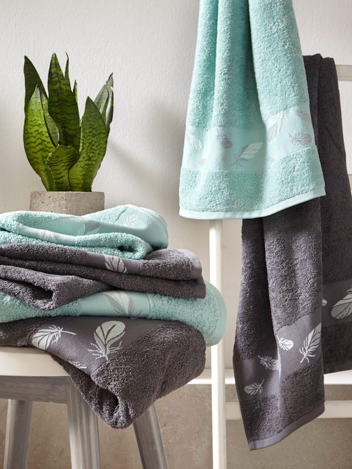 Dyckhoff Badehåndkle, koksgrå
