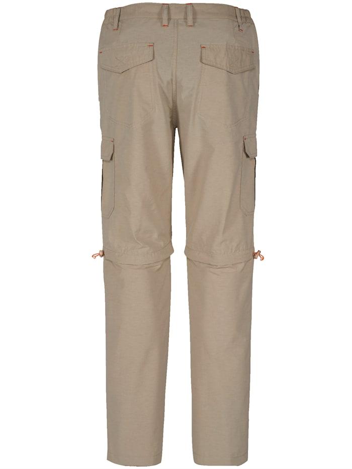 Pantalon cargo à jambes amovibles