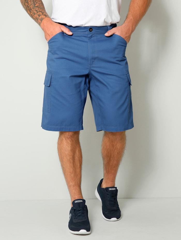 Men Plus Cargobermuda in Regular Fit, Lichtblauw