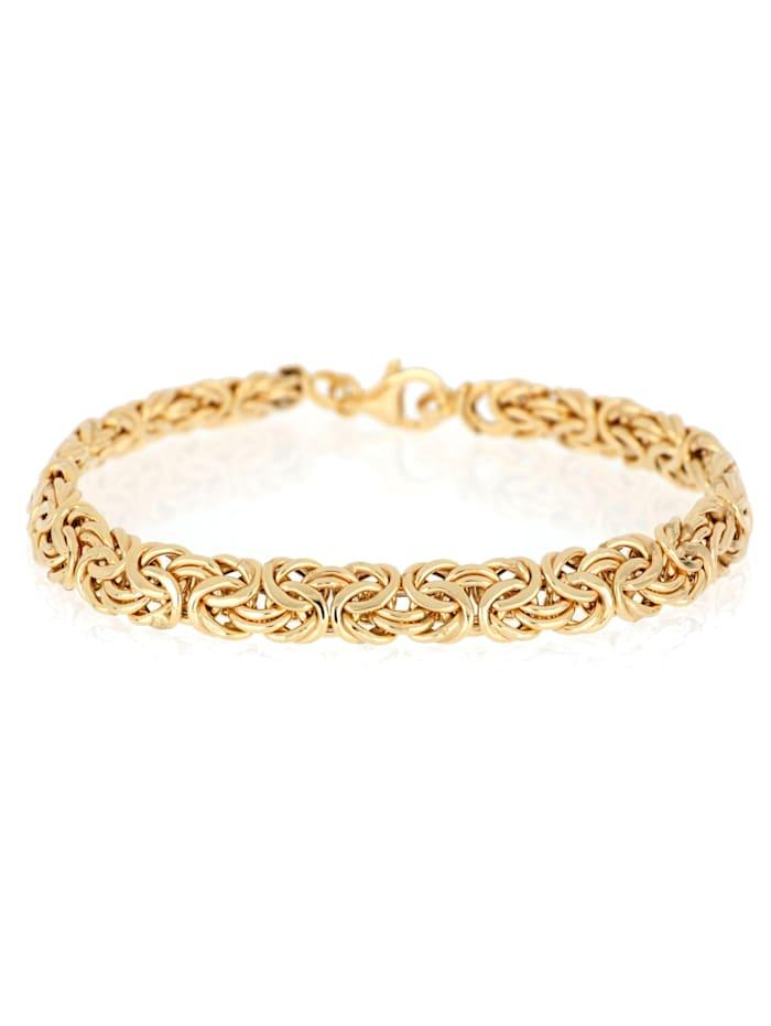 Bracelet maille royale en or jaune