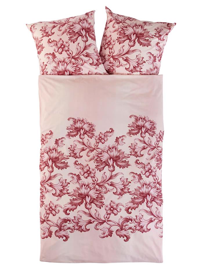Webschatz Biber posteľná bielizeň Mareike 2-d., krémová/ružová