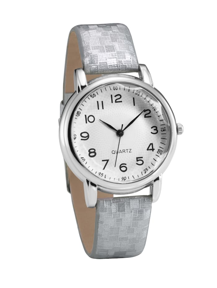 Laura Kent Armbanduhr, Silberfarben