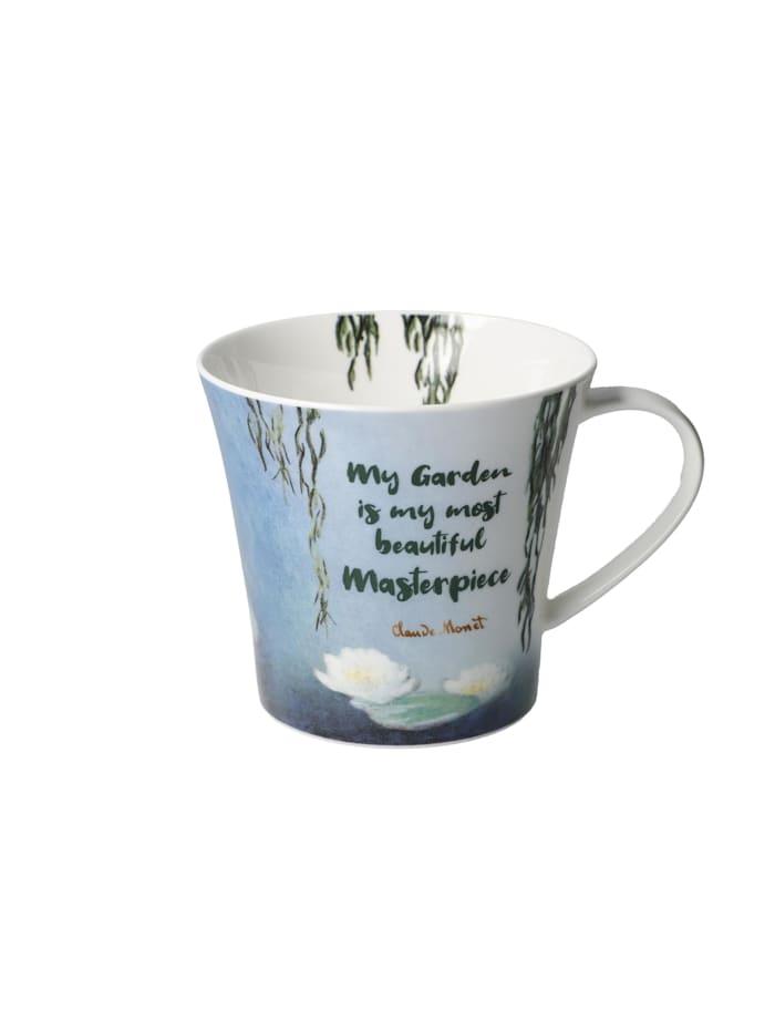 Goebel Goebel Coffee-/Tea Mug Claude Monet - My Garden is..., Bunt